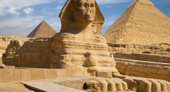 Las pirámides de Egipto habrían estado sumergidas bajo el mar