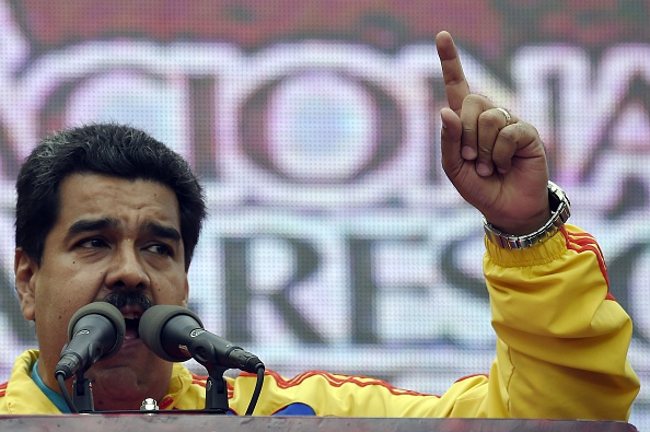 Nicolás Maduro. (JUAN BARRETO/AFP/Getty Images)