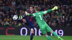 El FC Barcelona se impone al Manchester City 1 a 0 en el Camp Nou