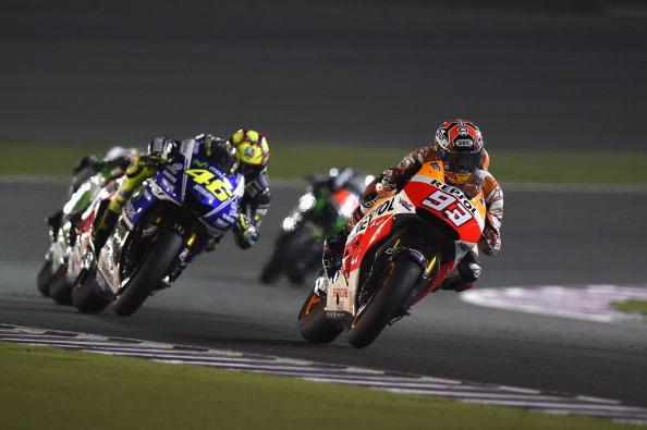 Moto GP en Qatar comienza este fin de semana de marzo 2015. (Mirco Lazzari gp/Getty Images)