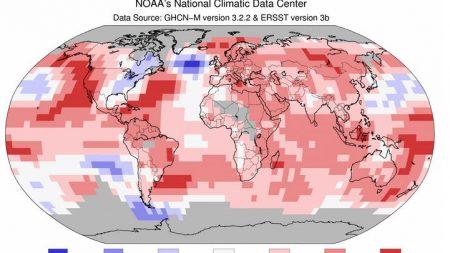 Temperaturas de febrero de 2015 suman nuevos récord mundiales