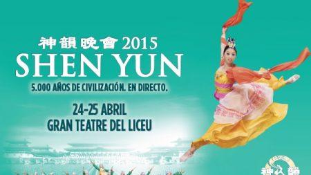 Shen Yun se presenta nuevamente en Barcelona en este 2015