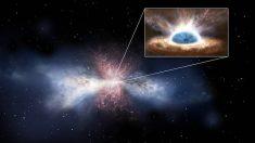 Observan cómo agujeros negros alimentan estrellas en galaxias a grandes distancias