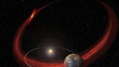 Polvo de cometa pintó al planeta Mercurio