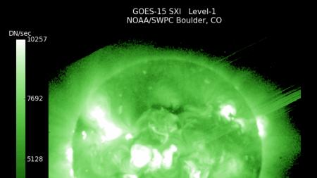 Observan un ciclo solar estacional de dos años