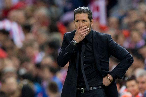 """Diego """"El Cholo"""" Simeone aún no declaró si continuará en el Atlético Madrid. (Gonzalo Arroyo Moreno/Getty Images)"""