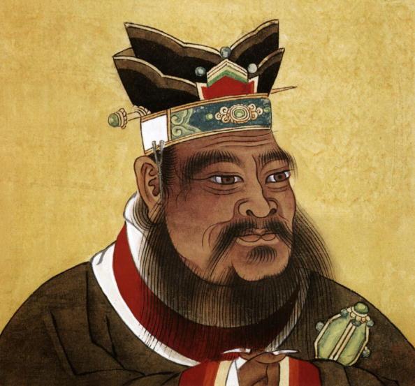 Confucio (c. 551-479 BC) filósofo chino, pintura china del siglo XVII (Photo by APIC/Getty Images)