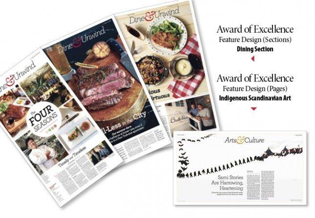 La Gran Época ganó dos premios a la excelencia en la 36ª mejor competición en diseño creativo de noticias dirigido por la Society for News Design. (Rob Counts / La Gran Época)