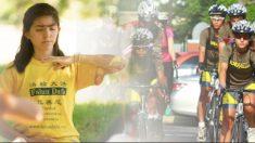 Joven argentina recorre miles de kilómetros en bicicleta para rescatar a huérfanos en China