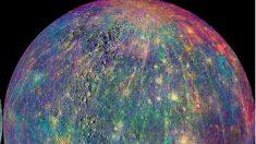 Imágenes de Mercurio antes del impacto de la nave Messenger