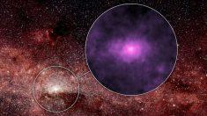 Rayos al centro de la Vía Láctea pueden ser de  estrellas moribundas