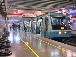 Los usuarios del Metro dijeron haber escuchado una explosión en el interior de uno de los trenes (foto: www.es.wikipedia.org)