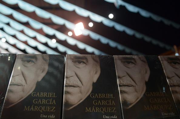 La Feria del Libro en Bogotá, Colombia, tiene un pabellón dedicado a Gabriel García Márquez. ( EITAN ABRAMOVICH/AFP/Getty Images)