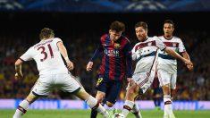 Messi sacó la varita y el Barcelona está casi en la final