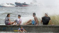 El tifón Dodong azotó el noreste de Luzón con fuertes vientos y lluvias intensas