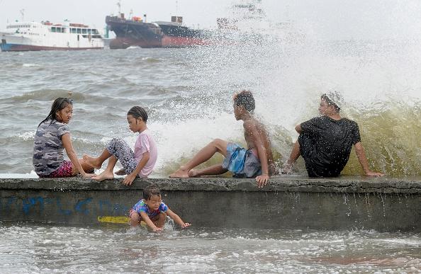 Tifón en Filipinas azota con fuertes vientos. (Getty Images/Pacific Press)