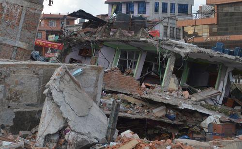 Terremoto de Nepal el 25 de abril de 2015 (Sociedad Sismológica de Neoal)