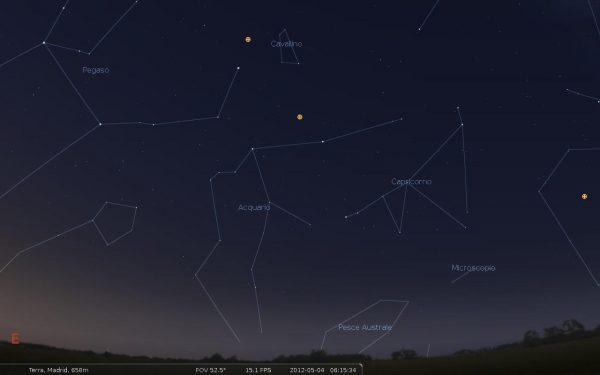 Constelación Acuario