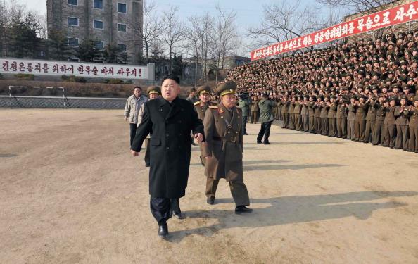 El líder norcoreano, Kim Jong Un. Foto: KNS/AFP/Getty Images