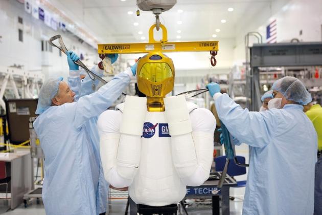 Robot  de la  Agencia Espacial Estadounidense. (NASA)