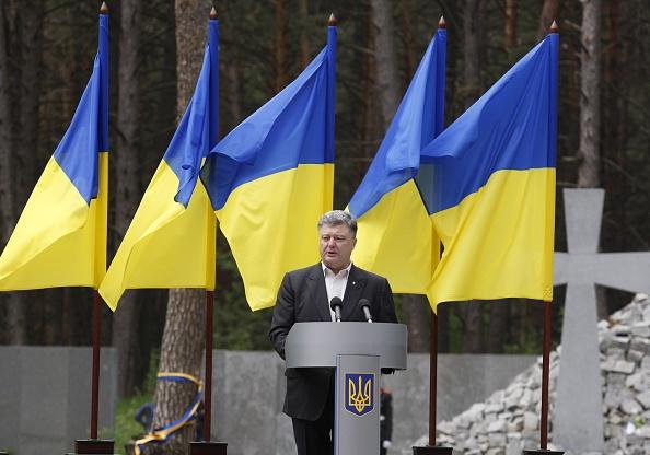 Petro Poroshenko. Foto: Vladimir Shtanko/Anadolu Agency/Getty Images