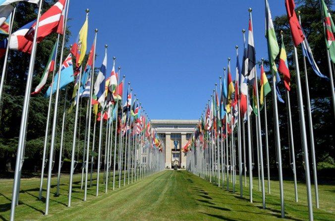 Sede de Naciones Unidas en Ginebra. (Davide Giannotti / La Gran Época)