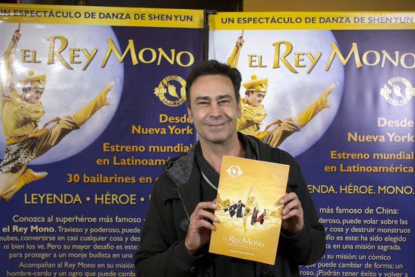"Jorge Schubert: ""El Rey Mono de Shen Yun tiene mucha magia"""