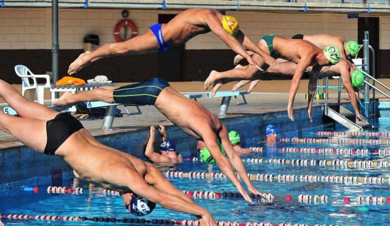 Competición de natación en España, junio de 2015. (Federación Catalana de Natación)