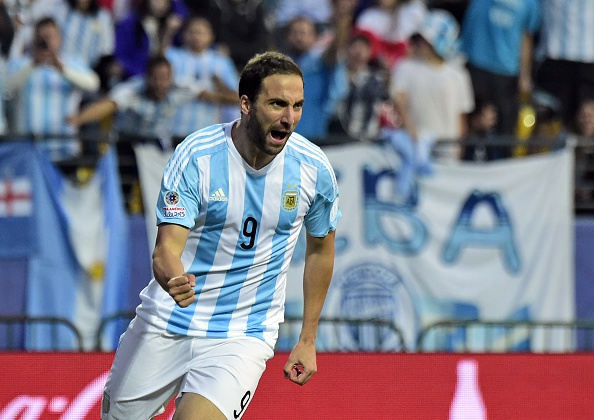 El jugador argentino Gonzalo Higuaín. (LUIS ACOSTA/AFP/Getty Images)
