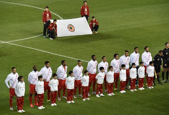 Perú se queda con el partido frente a Bolivia. (NELSON ALMEIDA/AFP/Getty Images)