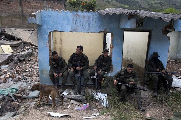Se confirmó que el funcionario fue secuestrado por un sector disidente de la FARC. (LUIS ROBAYO/AFP/Getty Images)
