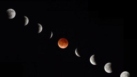 Las fechas de las Lunas de Sangre para 2014 y 2015, y dónde se verá el eclipse