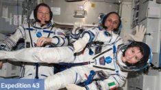 Astronautas de la Estación Espacial ISS volverán el 11 de junio tras más de seis meses