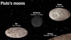 Lunas de Plutón danzan a ritmo caótico