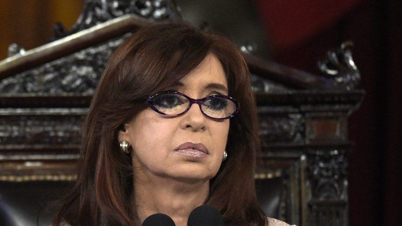 Presidenta argentina, Cristina Fernández de Kirchner. (Foto: UAN MABROMATA/AFP/Getty Images)