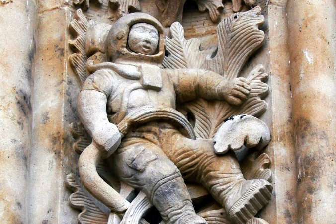 El astronauta de la catedral de Salamanca: ¿Extraterrestres antiguos?