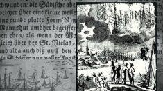 En 1665 las personas que observaron una batalla entre ovnis luego cayeron enfermas