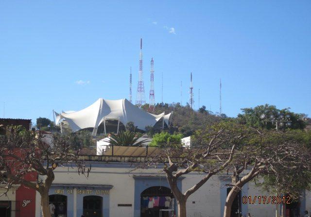 Cerro El Fortín de Oaxaca de Juárez, punto geográfico más elevado y Símbolo de la ciudad. (Wikimedia Commons)