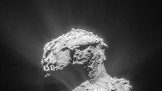 Rosetta revela que el cometa 67P se rodea de electrones