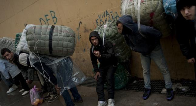 Pobreza en España. (Jorge Guerrero/AFP/Getty Images)