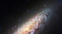 """Galaxia solitaria sorprende al borde del """"vacío"""""""