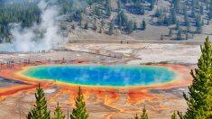 Abandonaron la búsqueda del joven que cayó en aguas termales del Yellowstone