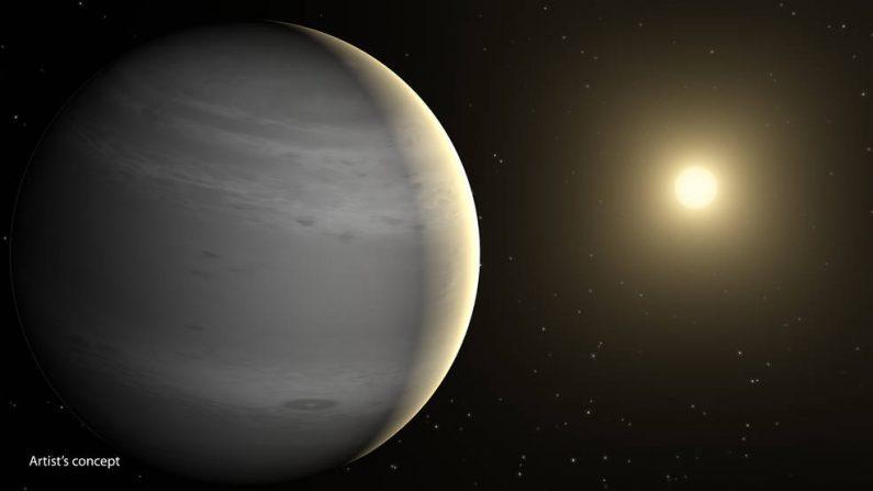 Planetas como un globo de Helio, de gran tamaño, pueden ser comunes en la Vía Láctea. (NASA / JPL-Caltech)