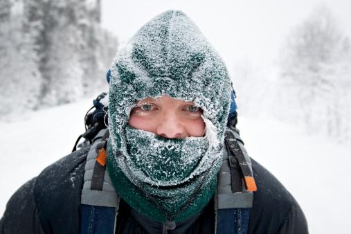 Los excesos de Frío pueden estancar, hacer más lento y contraer tanto al qi como a la sangre. (Richard Legner/Getty Images)