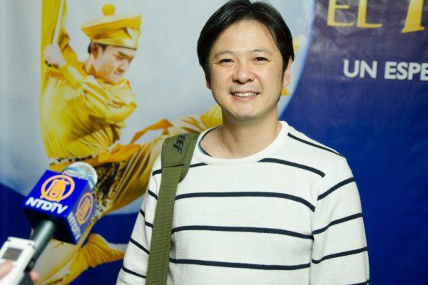 """El actor Ignacio Huang sobre El Rey Mono de Shen Yun: """"Es una maravilla"""""""