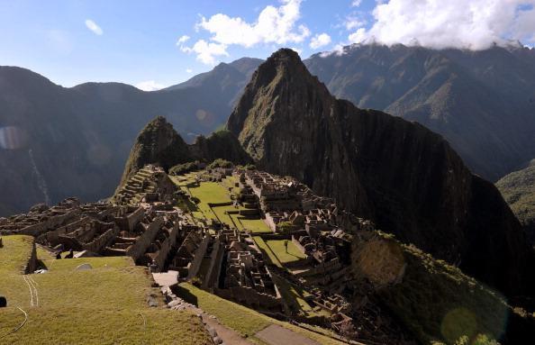 Machu Picchu. (CRIS BOURONCLE/AFP/Getty Images)