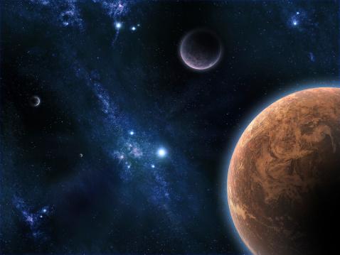 ¿OVNIs? Extraños objetos captados en la Luna, Marte y el Sol