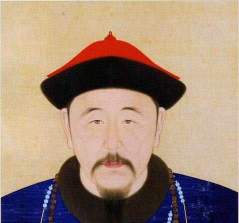El emperador de la dinastía Qing Kangxi a los 40 años (Wikimedia Commons)