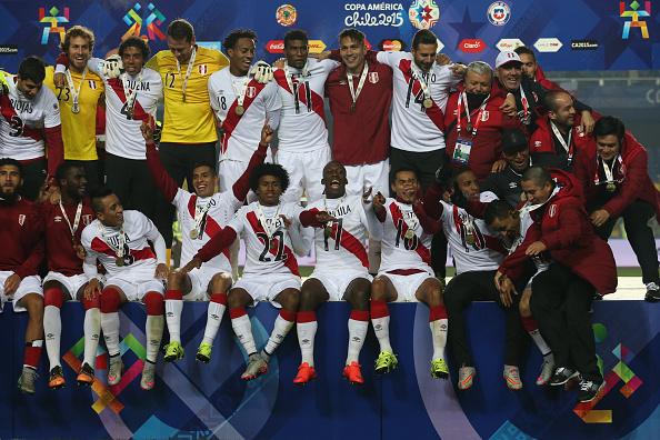 a Victoria de Perú por 2 a 0 ante Paraguay, le otorga un merecido tercer puesto en la Copa América Chile 2015. (Claudio Santana/LatinContent/Getty Images)
