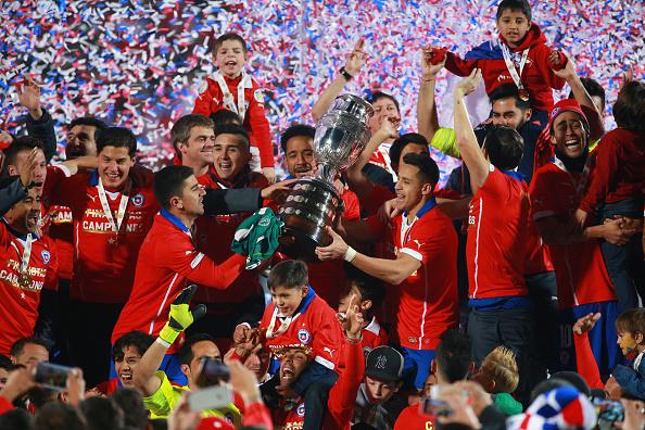 Chile se consagra campeón de la Copa América 2015 en Santiago al vencer a la Argentina por penales. (Hector Vivas/LatinContent/Getty Images)